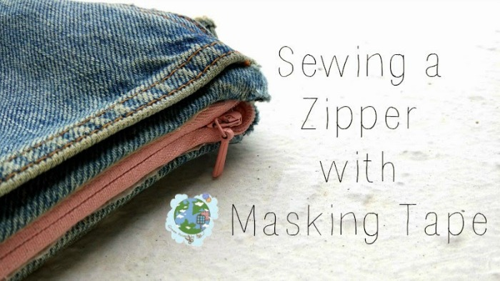 fix zipper with masking tape, greenissuessingapore - 2usestuesday feature