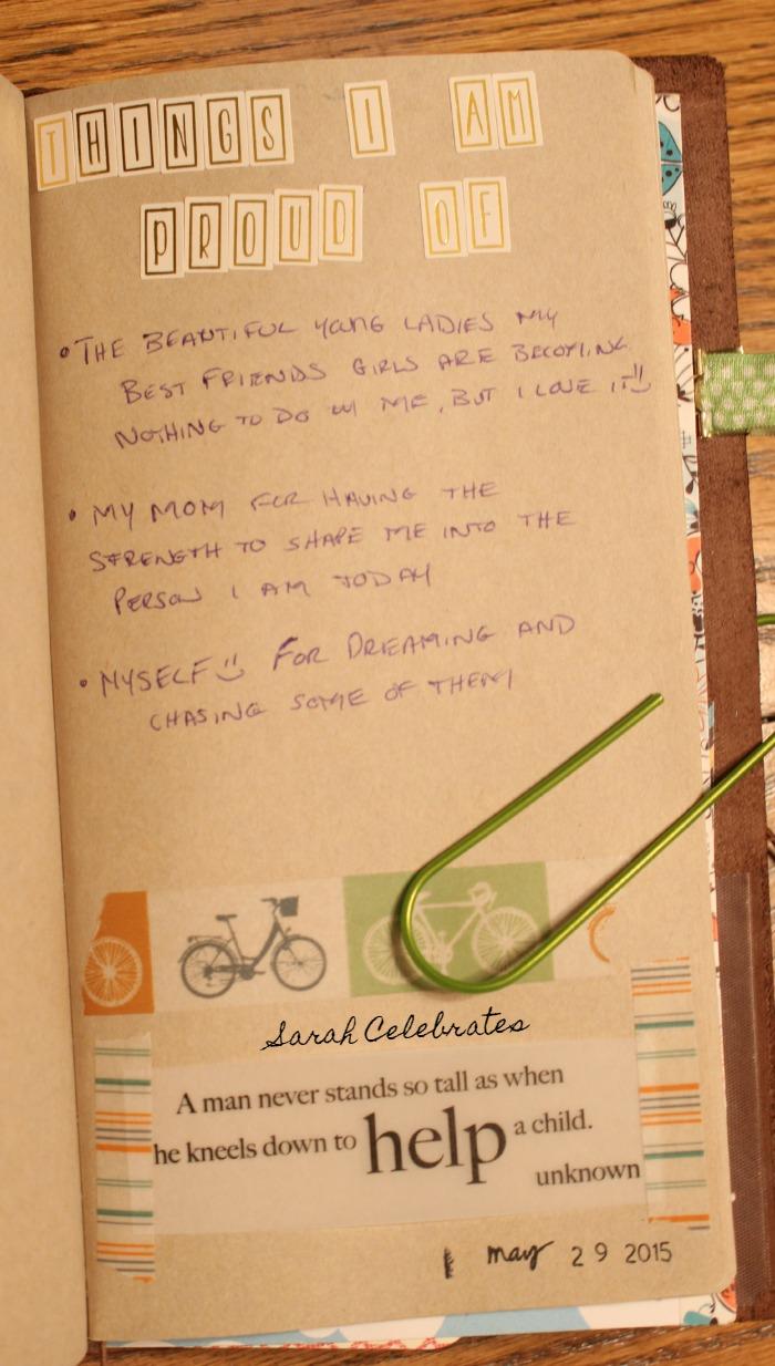 Things I Am Proud Of, List 22 #52List2015   Sarah Celebrates