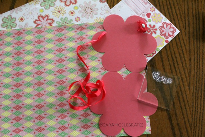 Baby Girl Shower Card - Card Maker Supply Kit, Choose Your Supplies - Sarah Celebrates
