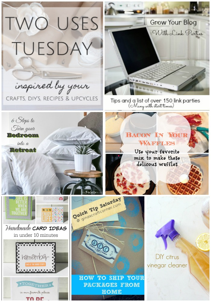 Two Uses Tuesday Features 33