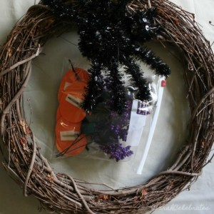 Simply Chic Fall Wreath - Put Away The Old - Sarah Celebrates