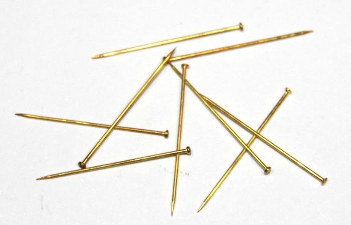 Brass Pins - #Pinbellish 20
