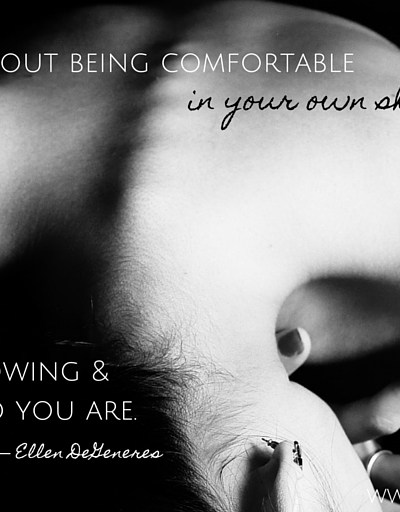 In Your Own Skin…