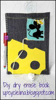 Diy dry erase book - travelling with kids part 2   Pinbellish fave 2