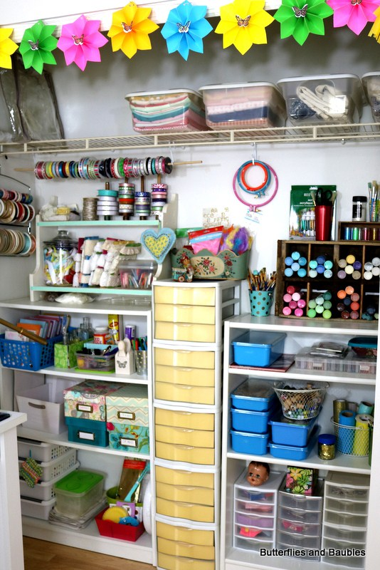 Craft-Room-Closet-Storage | #2usestuesday Most Clicked Feature