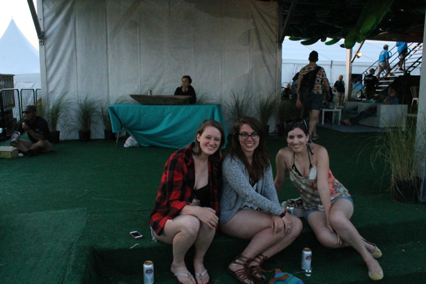 a weekend at Hangout Fest