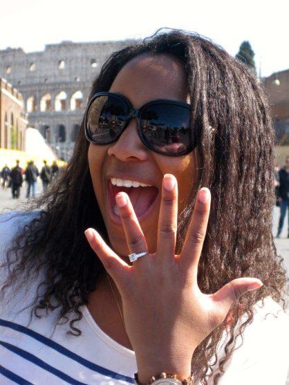fiancée rome