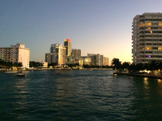 Miami Beach Weekend Venetian Island The Standard