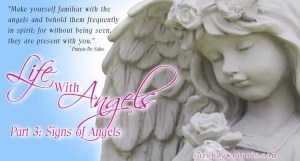 Life with Angels: Signs of Angels by sarahdawntunis.com