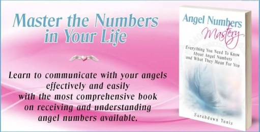 Angel Numbers Mastery Book Cover Image. Master the Numbers in Your Life. Learn to communicate with your angels effectively and easily with the most comprehensive book on receiving and understanding angel numbers available.