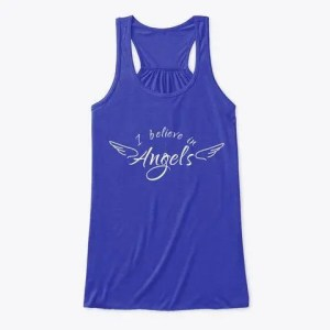 I believe in Angels Flowy Tank