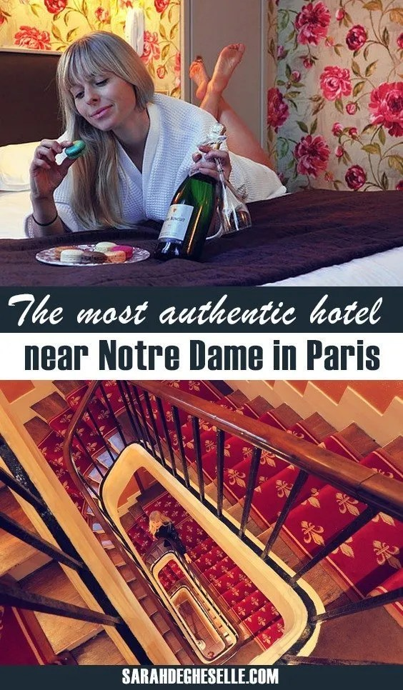 The most authentic hotel near Notre Dame in Paris