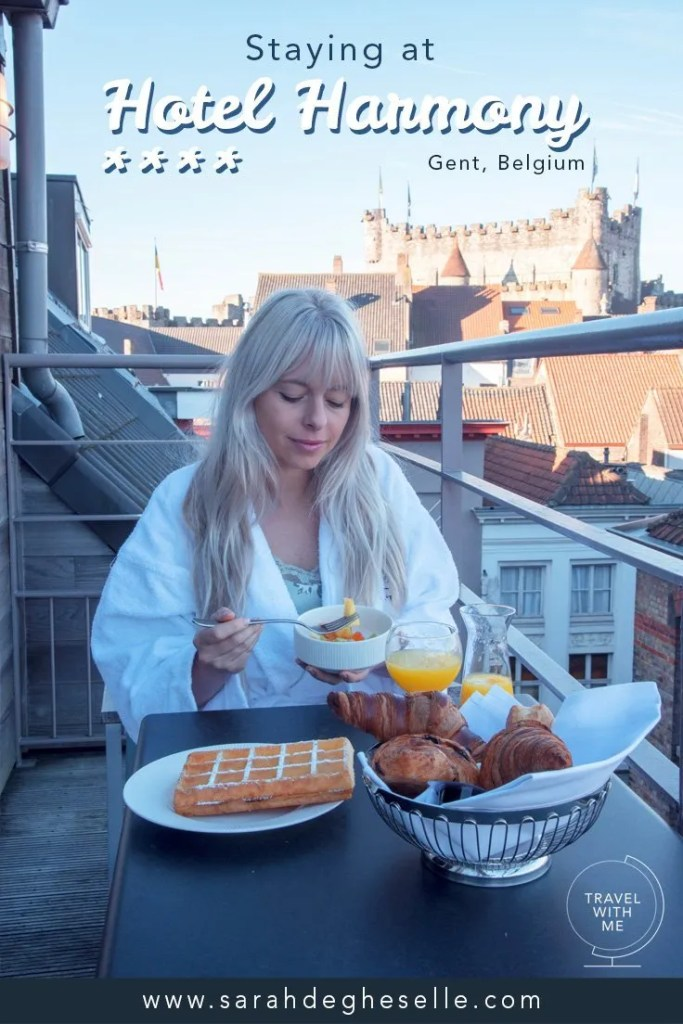 staying at hotel harmony**** in Ghent | Belgium