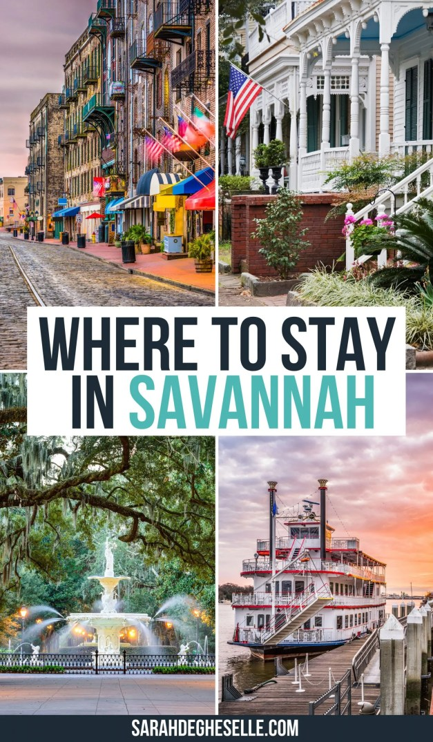 where to stay in Savannah?