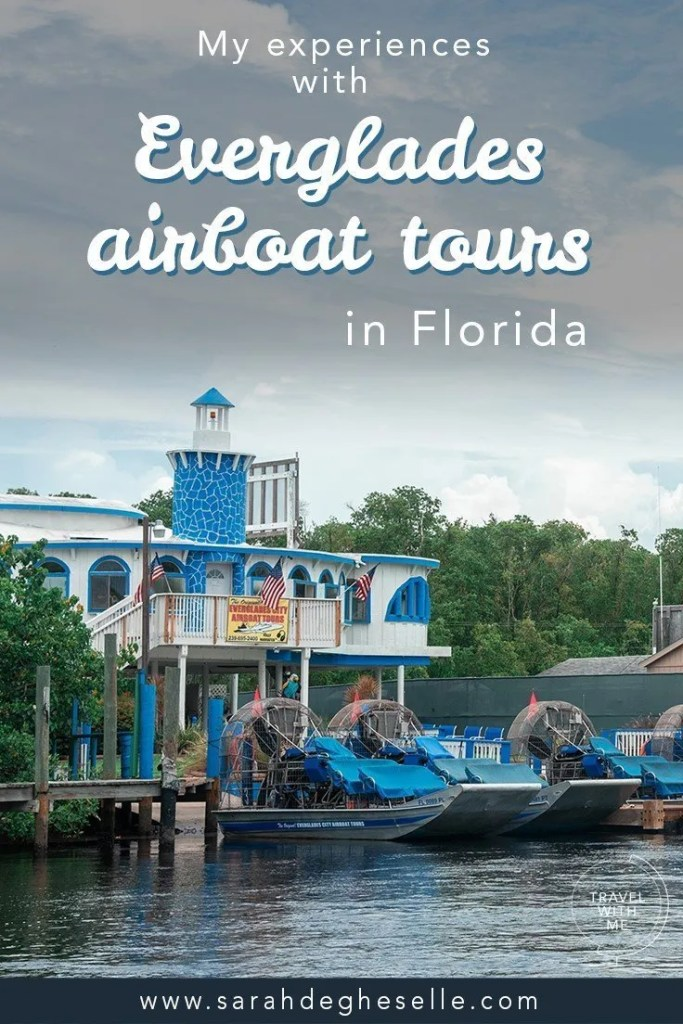 my experiences with Everglades airboat tours in Florida