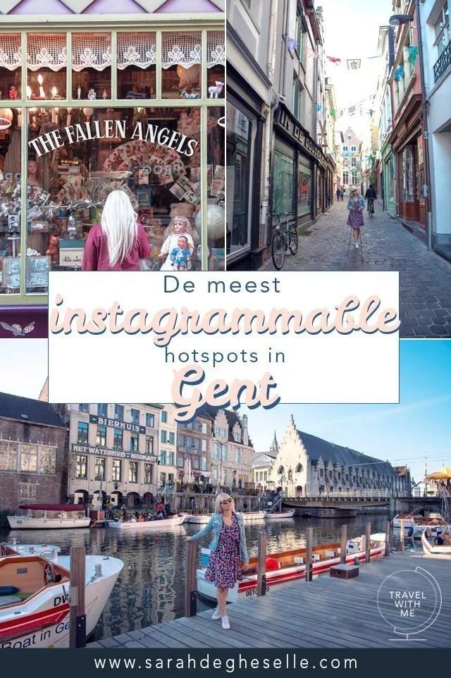 de meest instagrammable hotspots in Gent