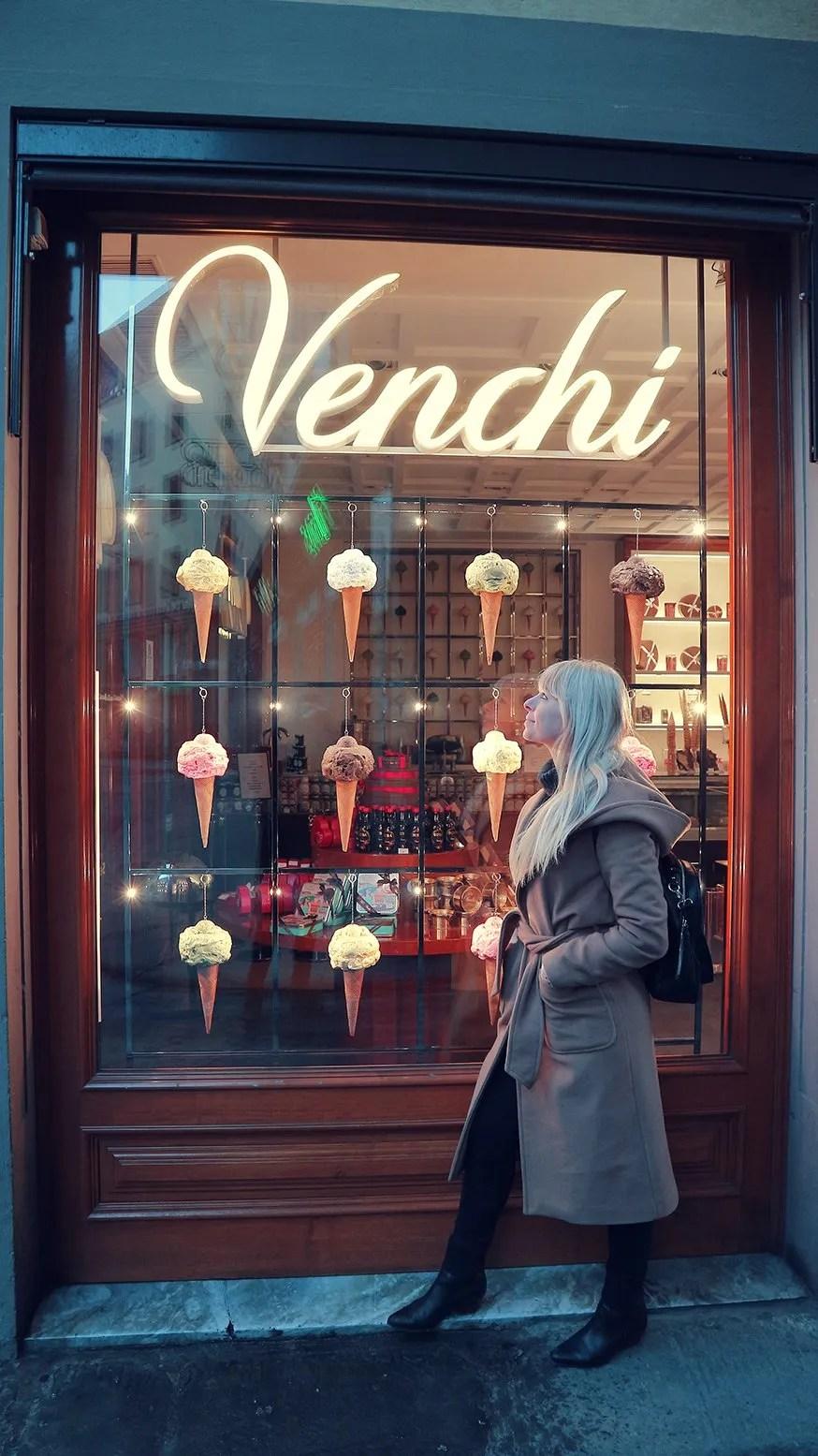 Italiaanse gelato