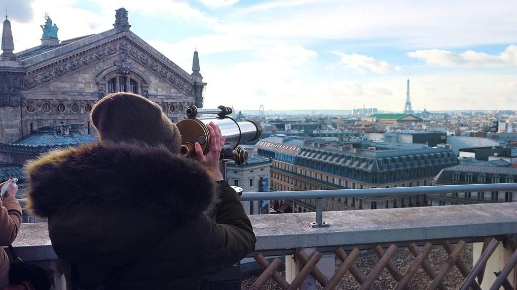 Rooftop Galeries Lafeyette Paris