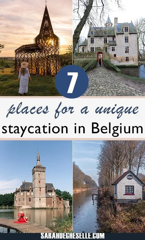 7 places for a unique staycation in Belgium
