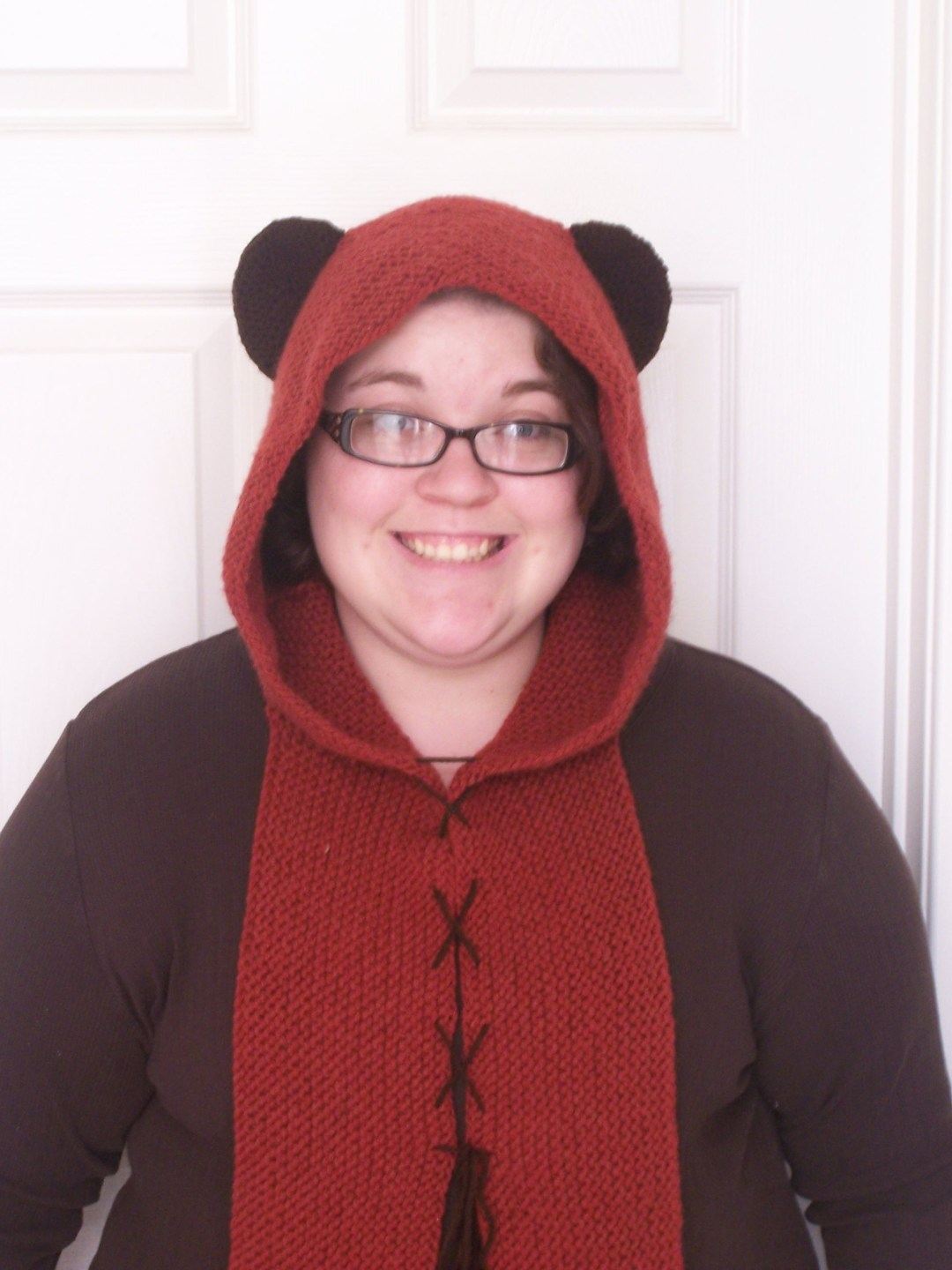 ewok star wars hood May the 4th be with you knitting pattern
