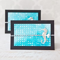 Under the Sea Die-Cut Cards