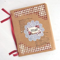 Mixed-Media File Organizer