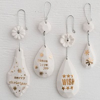 All that Glitters Holiday Ornaments