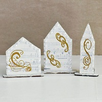 Reversible PaperWhimsy Houses Part 2
