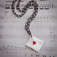 Love Letters Necklace by Sarah Donawerth