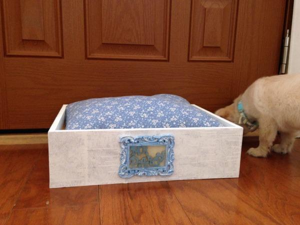 Mr. Darcy'S Shabby Chic Pet Bed Diy Tutorial - Sarah Donawerth