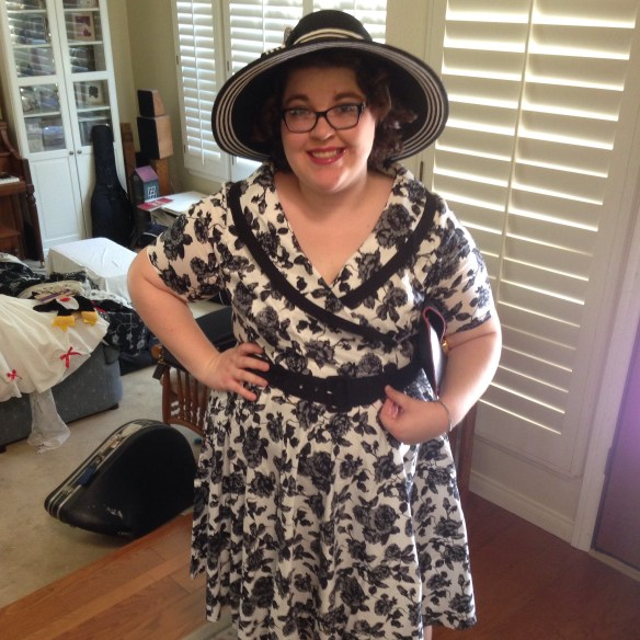 1950s Dapper Day outfit