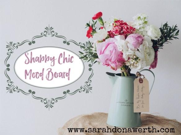 Shabby Chic Mood Board