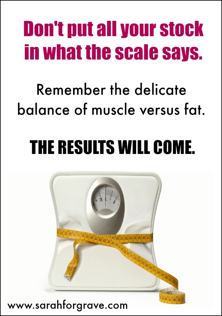 The results will come.   www.sarahforgrave.com