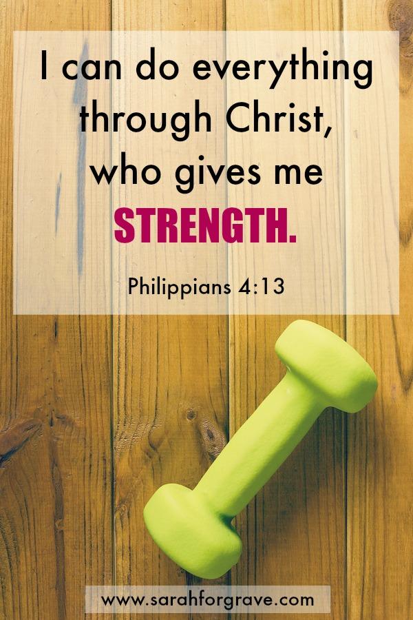 Philippians 4:13 | www.sarahforgrave.com