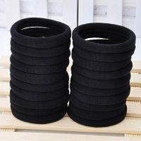 Seamless 8mm High Elastic Cotton Stretch Hair Ties