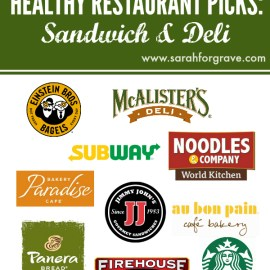 Healthy Restaurant Picks: Sandwich and Deli