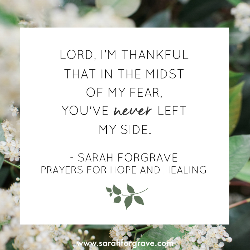 Prayers For Hope And Healing Sarah Forgrave