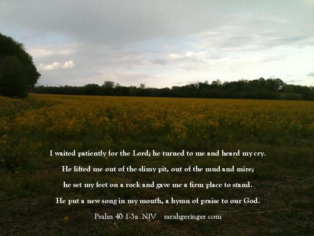 quote card Psalm 40