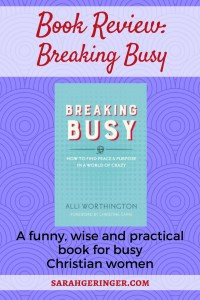 Book Review: Breaking Busy