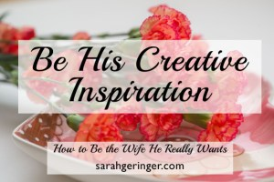 Inspire your husband's creative side. #marriage #valentine