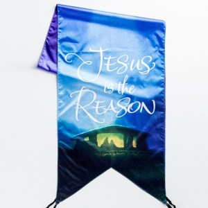 Over-the-door banner from Dayspring