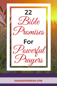 Claim these #Bible promises while you #pray to experience #spiritual growth!
