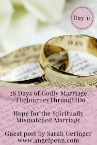 Hope for the Spiritually Mismatched Marriage