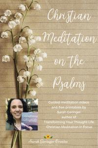 Christian Meditation on the Psalms