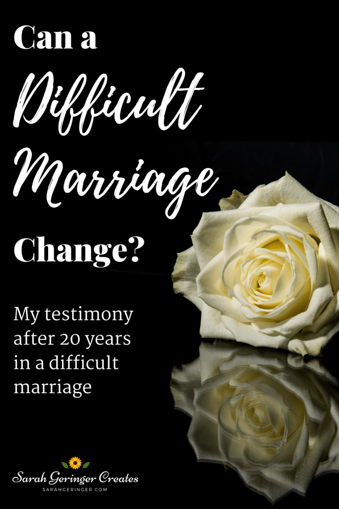 Can a Difficult Marriage Change?