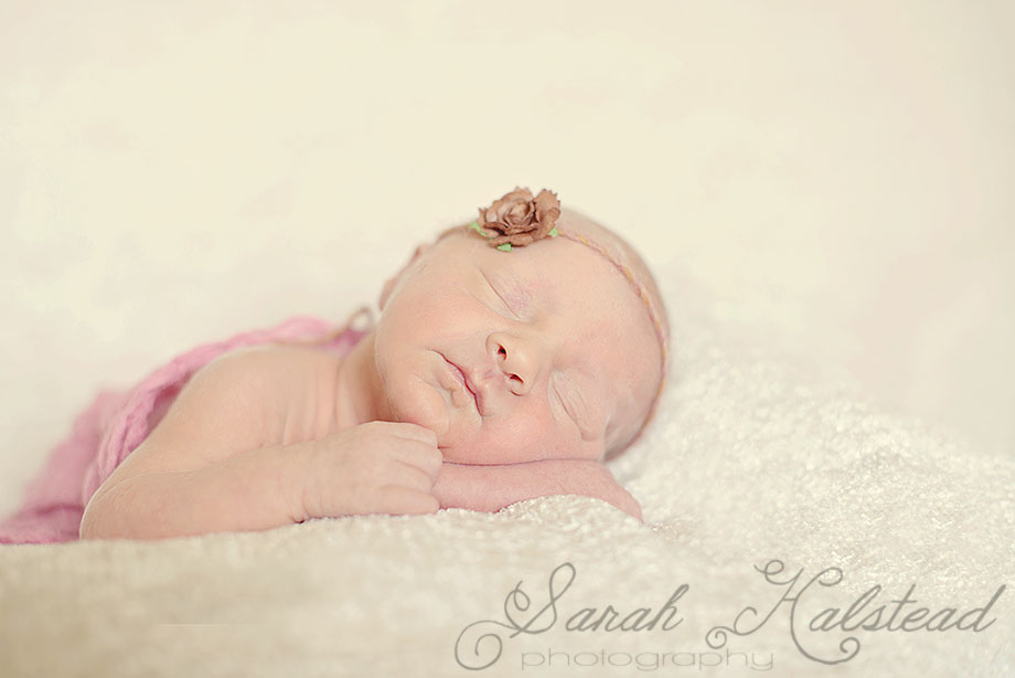 Olivia Beth - Newborn Posing
