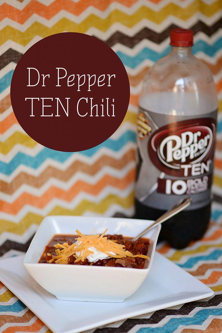 Dr Pepper TEN Chili | #drinkTEN #CollectiveBias #ad