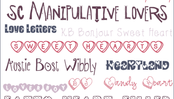 free valentines day fonts - Free Christmas Font
