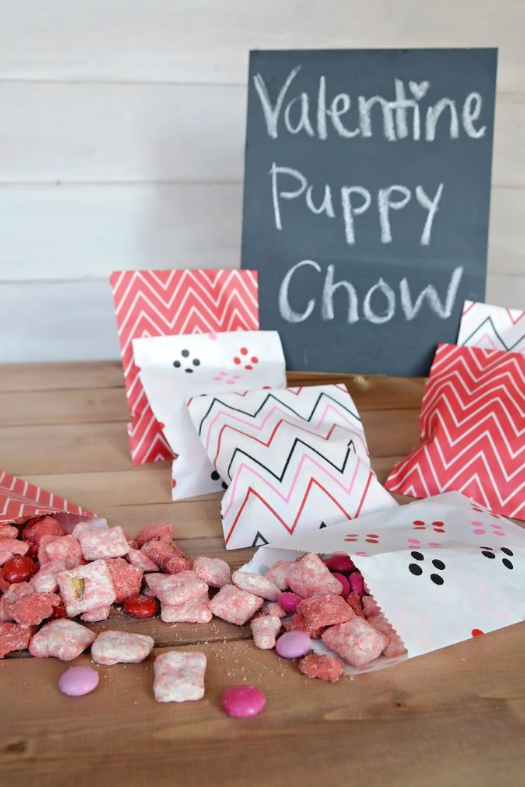Perfekt Valentine Puppy Chow