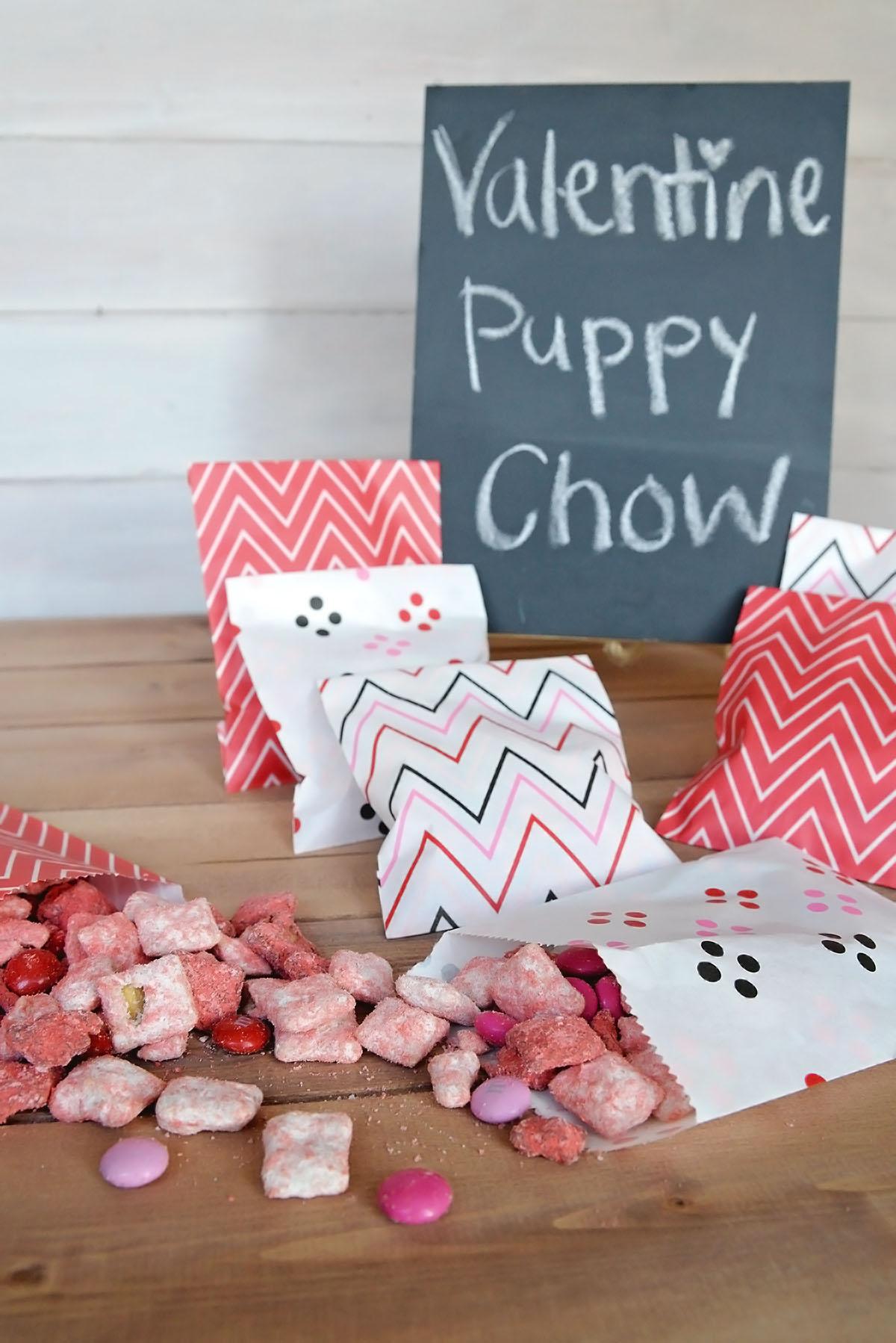 Valentine Puppy Chow
